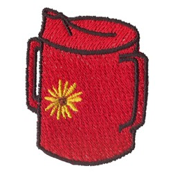 Sippie Cup embroidery design