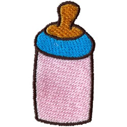 Bottle embroidery design