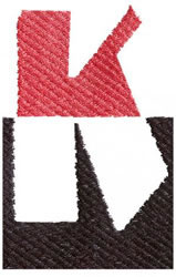 Below the Belt K embroidery design
