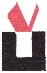 Below the Belt Y embroidery design