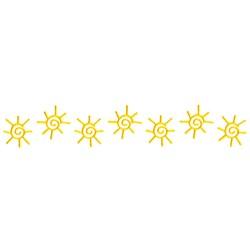 Sunshine Border embroidery design