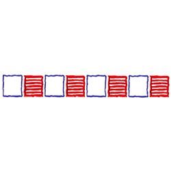 Block Border embroidery design