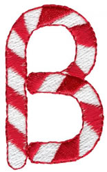 Candy Cane B embroidery design