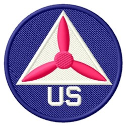 US CAP embroidery design