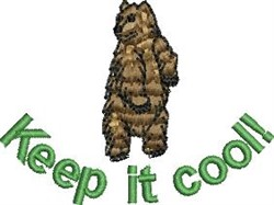 Keep It Cool embroidery design