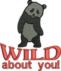 Wilid About You embroidery design