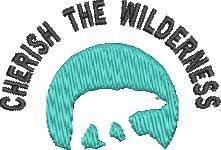 Cherish Wilderness embroidery design