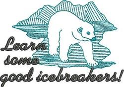 Icebreakers embroidery design
