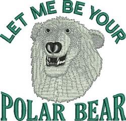 Your Polar Bear embroidery design