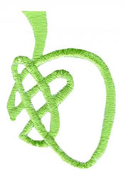 Celtic B embroidery design