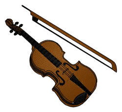 Violin Embroidery Designs Machine Embroidery Designs At