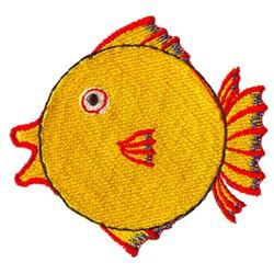 Fun Fish embroidery design