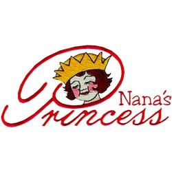 Nanas Princess embroidery design
