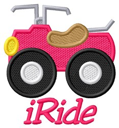 iRide 4 Wheelers embroidery design