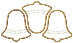 Bell Cookies embroidery design