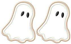 Ghost Cookies embroidery design