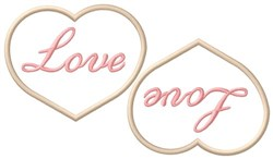 Love Cookies embroidery design
