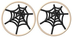 Spider Web Cookies embroidery design