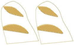 Sub Sandwich Tops embroidery design