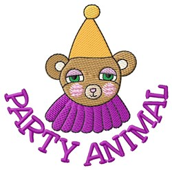 Party Animal embroidery design