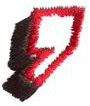 Club 2 Comma embroidery design