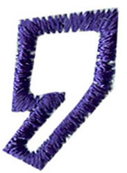 Club 4 Comma embroidery design