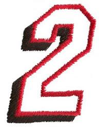 Club  2 embroidery design