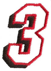 Club  3 embroidery design