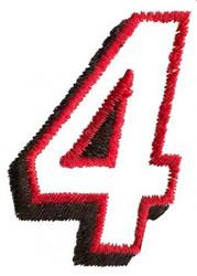 Club  4 embroidery design