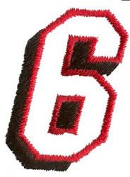 Club  6 embroidery design