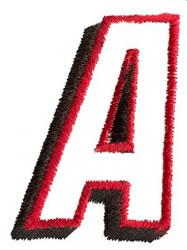 Club A embroidery design
