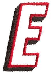 Club E embroidery design