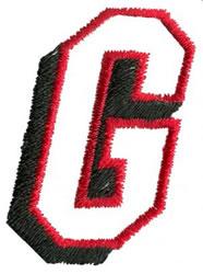 Club G embroidery design