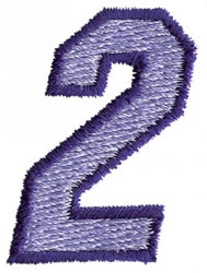 Club 3 2 embroidery design