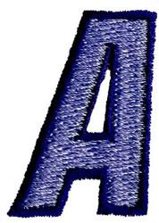 Club 3 A embroidery design