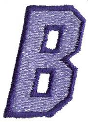 Club 3 B embroidery design
