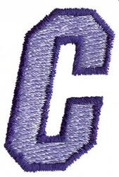 Club 3 C embroidery design