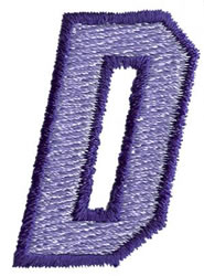 Club 3 D embroidery design