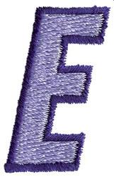 Club 3 E embroidery design
