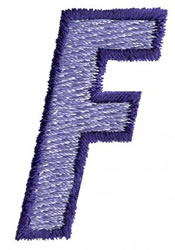 Club 3 F embroidery design