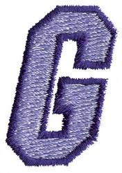 Club 3 G embroidery design