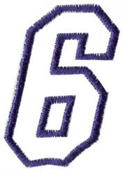 Club 4 6 embroidery design