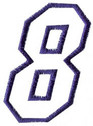 Club 4 8 embroidery design