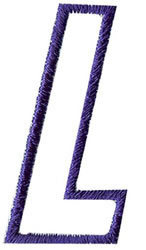 Club 4 L embroidery design