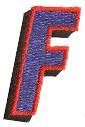 Club F embroidery design