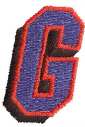 Club G embroidery design
