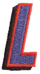 Club L embroidery design