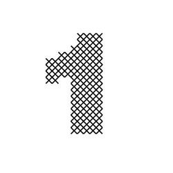 Cross Stitch Font 1 embroidery design