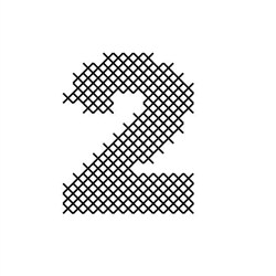 Cross Stitch Font 2 embroidery design