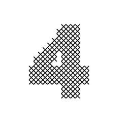 Cross Stitch Font 4 embroidery design